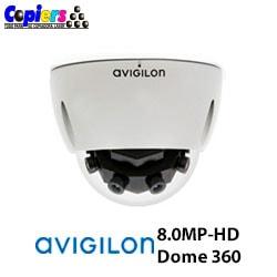 Cámara de Seguridad Avigilon 8.0MP-HD-Dome 360