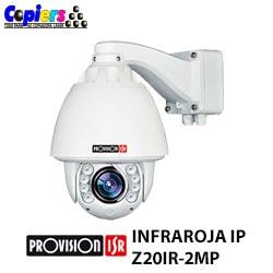 Cámara-de-Seguridad-Infraroja-IP-Provision-ISR-Z20IR-2MP