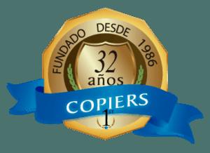 Logo Copiers 32 aniversario
